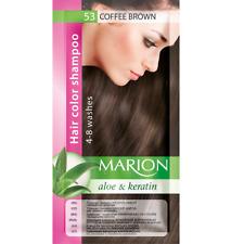 Marion Hair color shampoo sachet (lasting 4-8 washes) Aloe & Keratin 53