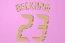 Beckham #23 2010-2012 LA Galaxy 3rd awaykit Nameset Printing