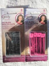 Goody Mosaic No Burn Hair Sectioning Plastic Roller Clips Curling Hood Dryer
