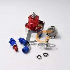 Adjustable Fuel Pressure Regulator + Gauge for DSM Eclipse Talon