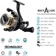 Spin Fishing Reel Size 2000 Superior Value | Big Brand Quality | Brutalade Reels
