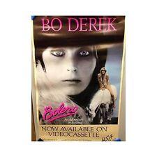 BOLERO BO DEREK Original Home Video Poster