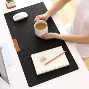 Modern Large Wool Felt Computer Desk Mat Table Keyboard Mouse Pad LaptopCushion