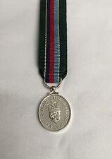 VRSM Miniature Medal, Volunteer Reserve Service, Army, Ribbon, Mini, Military