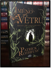 The Name of the Wind ✎SIGNED✎ by PATRICK ROTHFUSS Czech Hardback 1st Printing