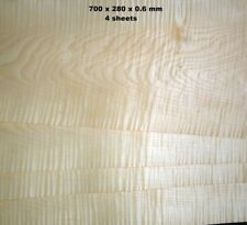REAL WOOD VENEER FIGURED SYCAMORE FOR GUITARS,DASHBOARDS,FURNITURE,MARQUETRY