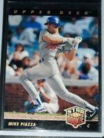 Mike Piazza '93 Star Rookie 1992 Upper Deck #2 Nrmt