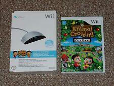 Animal Crossing: City Folk Nintendo Wii Complete with New Wii Speak