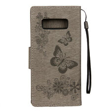 For Samsung Galaxy Note 9 S9/S8+ Plus Flip Leather Wallet Cards Stand Case Cover