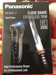 Panasonic ES-LL21 hybrid shaver wet and dry