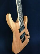 Haze-6FF Low Gloss Natural Oil,Fanned-Fret,6-String Electric Guitar+Free Gig Bag