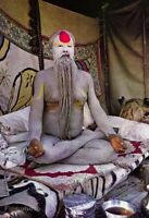 1960s Hinduism Sadhu Holy Man India By Alfred Eisenstaedt Religion Vintage Photo