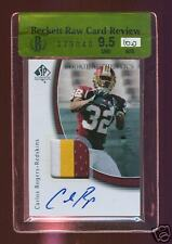 BGS 9.5 10 CARLOS ROGERS 2005 SPA RC AUTO 3 CRL PATCH