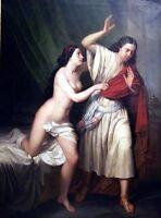 "Beautiful Oil painting Jesus flatly refused his followers canvas 36"""
