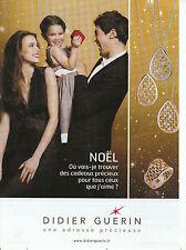 Publicité Contemporaine  Bijou  Didier Guérin  2013  P. 19