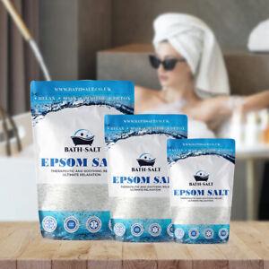 Epsom Salt | Foot Soak | Soothing Body Soak | Pure Epsom Bath Salt 50g -2kg