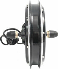 36V 48V 500W Brushless Gearless DC Front Wheel Hub Motor Electric Bicycle Ebike