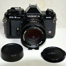 Yashica  FX-3 Super 2000 35mm SLR Camera with Fast Yashica ML 50mm F1.4