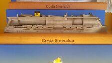 Cruise ship model Costa Smeralda, brand new, original box
