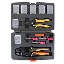 13pc Deutsch Crimper Kit -Includes Crimper, 7 Dies, Wire Stripper, Removal Tools