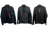 NEW!!! Spyder Men's Half-Zip Outbound Stryke Sweater Jacket Size & Color VARIETY