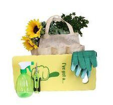 Gardening Burlap Bag Plant Spray Bottle Micro Pruning Snips Kneeling Pad Gloves