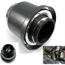 Carbon fiber Universal 3''inch 76mm Car High Flow Cold Air Intake Filter Cleaner