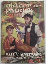 OLD CON AND PATRICK RUTH SAWYER VIKING PRESS 1946 FIRST EDITION DJ POLIO