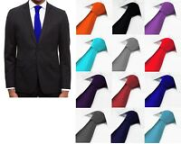 NEXT Mens Plain Solid Necktie Wedding Formal Work Silk Tie > BNWOT