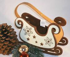 Weihnachten Geschenktüte Schlitten Nikolaus Korb Körbchen Tüte Tasche Beutel