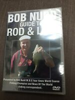 Guide to Rod & Line Bob Nudd New DVD Roach Bream Sealed
