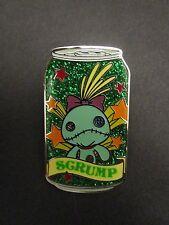 Hkdl Hong Kong Disney Disneyland Trading Tin Pin Stitch Scrump Soda Can 66511