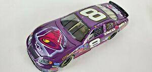 2004 Martin Truex Jr #8 Taco Bell BRISTOL RACE WIN AUTOGRAPHED 1/24 car AWESOME