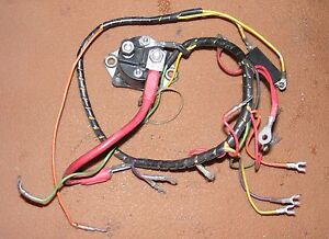 1978 Chrysler 55 HP 559H8P Wiring Harness PN F522744 Fits 1977-1980