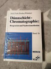 Dünnschicht-Chromatographie Band 1b Jork Funk Reagenzien Fachbuch Merck Lehrbuch