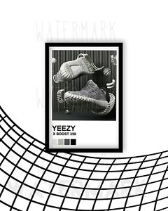 Yeezy / Adidas/ Trainer / Sneaker Wall Art Print / Poster A4 Size