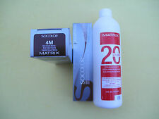 TWO 4M MATRIX SOCOLOR HAIRCOLOR PLUS ONE 16oz DEVELOPER NEW!