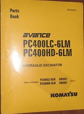 PARTS MANUAL FOR PC400LC-6LM SERIAL A85000 AND UP KOMATSU CRAWLER EXCAVATOR