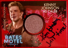 BATES MOTEL - KENNY JOHNSON, Caleb - JAIL TIME VARIANT, Costume & Autograph Card