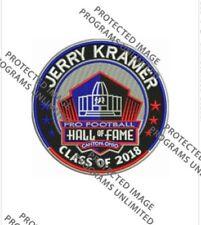 JERRY KRAMER 2018 NFL HALL OF FAME PATCH HOF GREEN BAY PACKERS SUPER BOWL