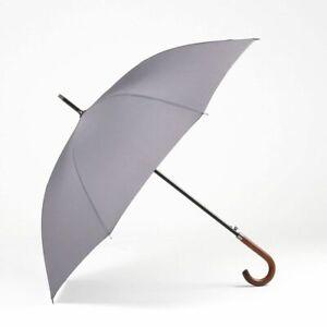 Japanese Umbrella For Rain Sun Windproof Long Wooden Handle Classic Business