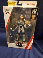 Mattel WWE AJ Styles Elite Collection Action Figure *RARE*