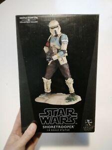 Gentle giant star wars 1/8 scarif Shoretrooper statue rogue one please read