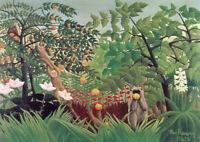 Henri Rousseau: Exotic Landscape. Fine Art Print/Poster