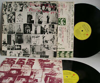 Rolling Stones Exile On Main St. 2LP+inserts 1st press Germany 1972