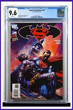 Superman Batman #76 CGC Graded 9.6 DC November 2010 White Pages Comic Book.
