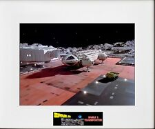 "(2) Space 1999 Eagle 1 & 2 Transporter 8""x10"" Photos -11"" x 14"" White Matted"