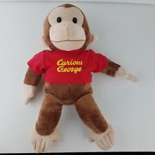"""Curious George Large Classic Plush by Applause 16""""  Stuffed Animal Monkey EXC"""