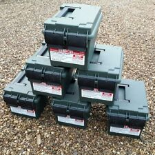 More details for empty ammo box mtm case-gard ammo can ac45 storage box tool box field box green