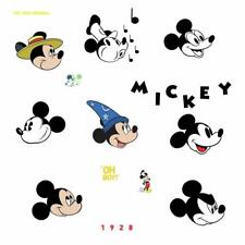 Disney Mickey Mouse Original RoomMates Vinyl Wall 20 Bedroom Decals Stickers